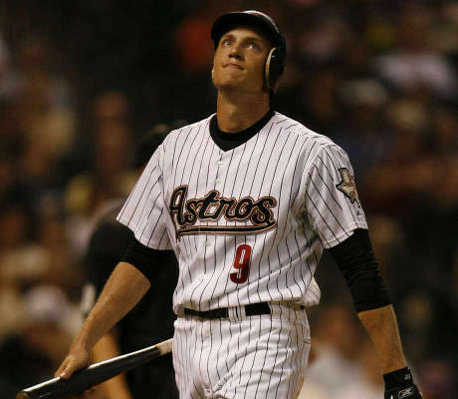 Hunter Pence struck out in the third inning. Photo: Karen Warren, Chronicle