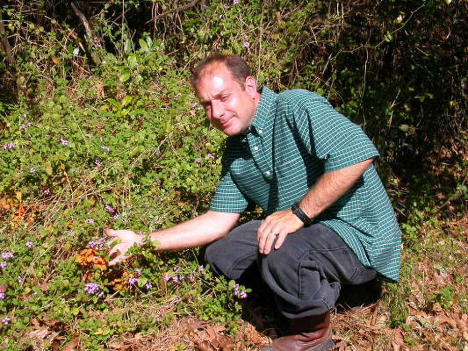 Eric Ruckstuhl is a man with a mission. For the last eight years, the Cypress resident has been slowly working his way down White Oak Bayou, ridding the forested areas along the bayou of trash and non-native plants, making tangled patches of undergrowth into beautiful areas.