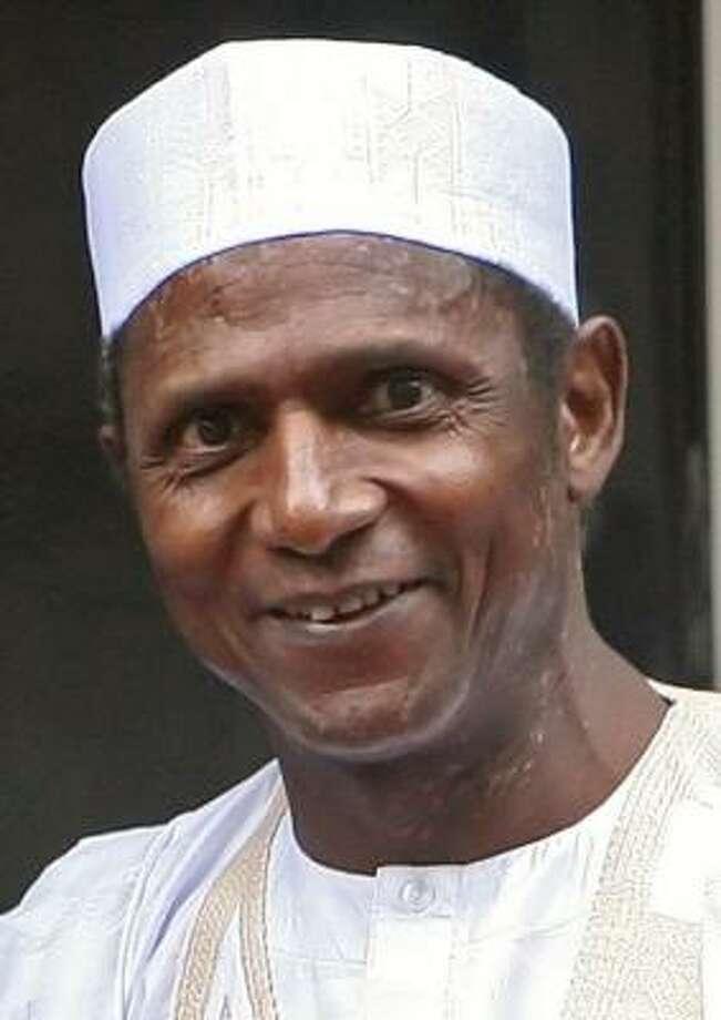 President Umaru Musa Yar'Adua of Nigeria. Photo: LEON NEAL, AFP/Getty Images