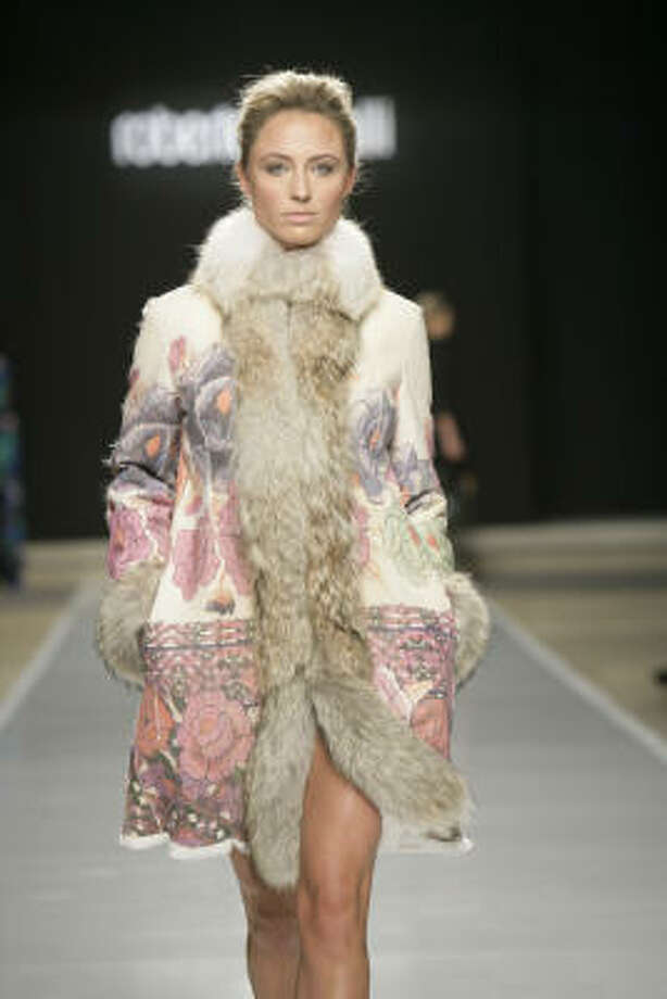 From Roberto Cavalli's fall 2008 runway collection at Fashion at the Park in Dallas. Photo: Evans Caglage, NorthPark Center