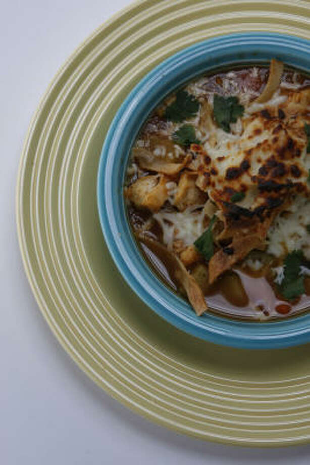 Autumn's Tortilla Soup Photo: JULIO CORTEZ:, CHRONICLE