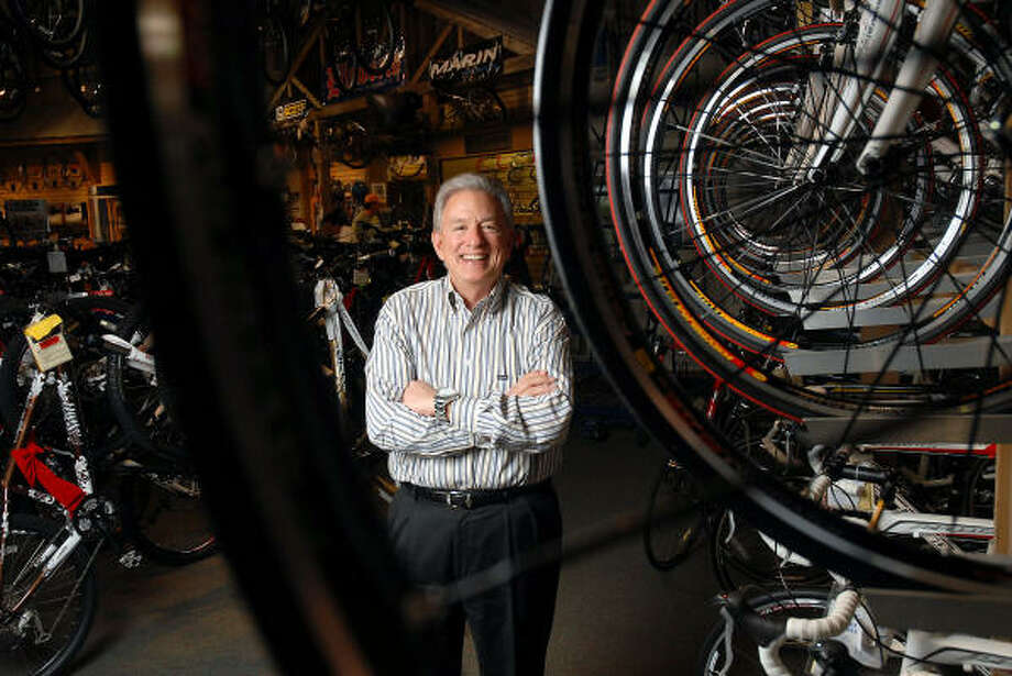 NOT SLOWING DOWN: Barry Goldware, CEO of Houston-based Sun & Ski Sports, says the economic downturn is a chance for his chain to grow. Photo: Dave Rossman, For The Chronicle
