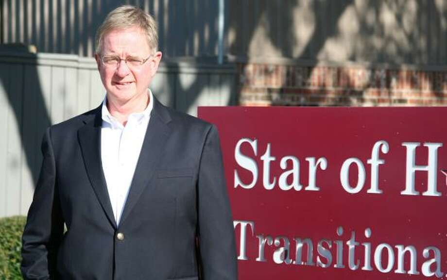 Hank Rush wants to take Star of Hope Mission into the next century, expanding aid to the homeless now rocked by the economy. Photo: HANDOUT PHOTO