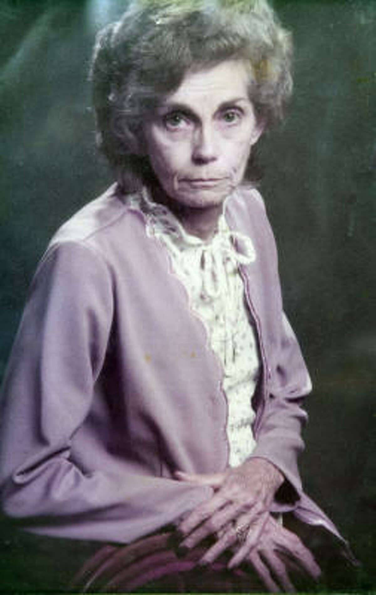 Edna M. Franklin, 72, was killed in 1994. A man on death row denies involvement.
