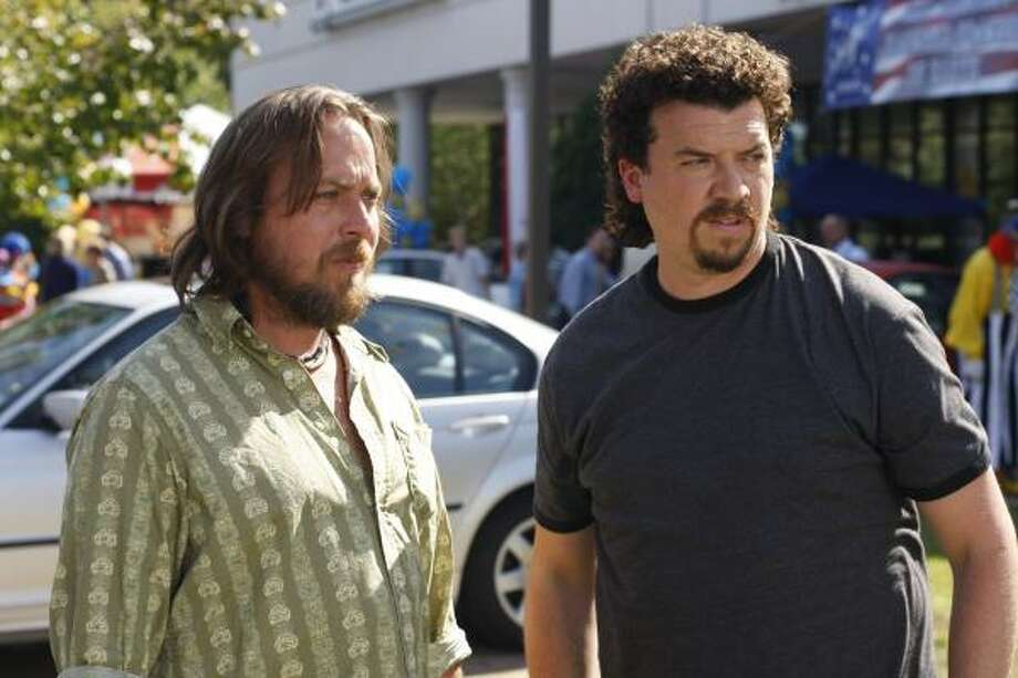 "Ben Best, left, and Danny McBride star in the HBO original series, ""Eastbound & Down."" Photo: Fred Norris, Associated Press"