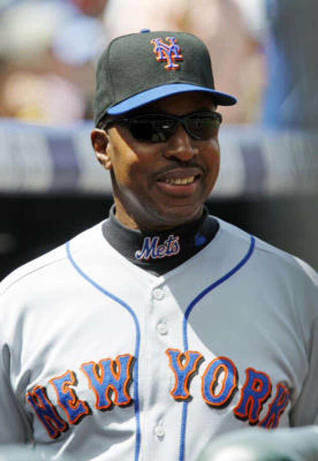 Willie Randolph will remain as manager of the New York Mets after a meeting with the team's owners. Photo: David Zalubowski, AP
