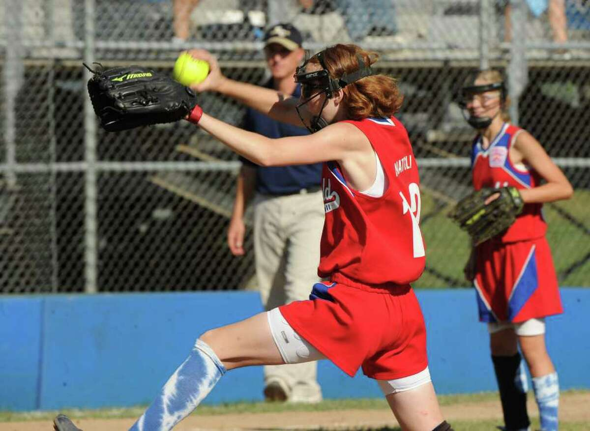 Highlight from Little League Softball Eastern Regional Championship game action between Fairfield and New York in Bristol, Conn. on July 30, 2011. New York beat Fairfield 9-5.