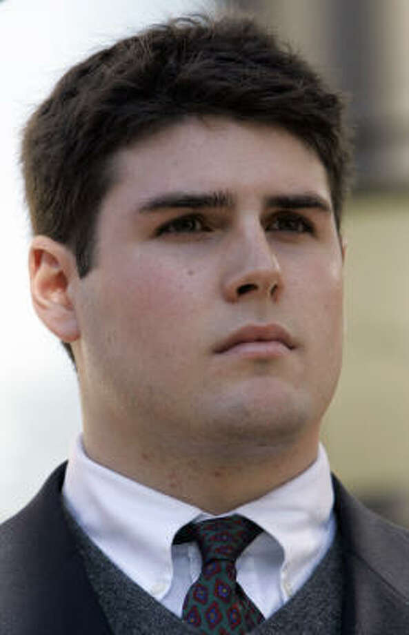 Former Duke lacrosse player Reade Seligmann's defense claims the accuser said he did not take part in the alleged attack during a December interview. Photo: Gerry Broome, AP File