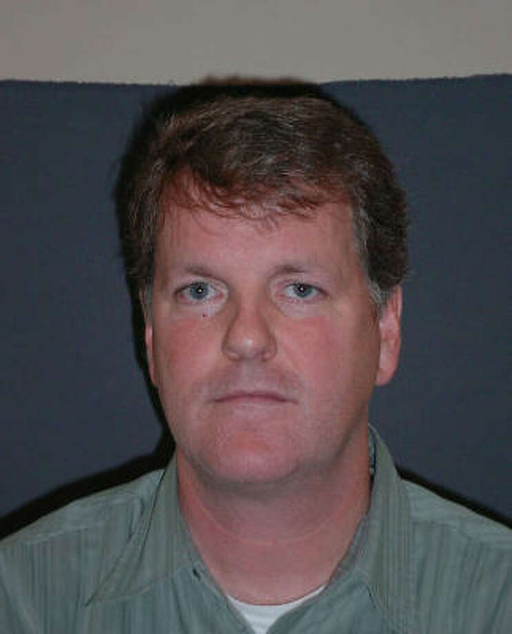 Doug Parker's booking photo after he was arrested on Jan. 31 Photo: AP