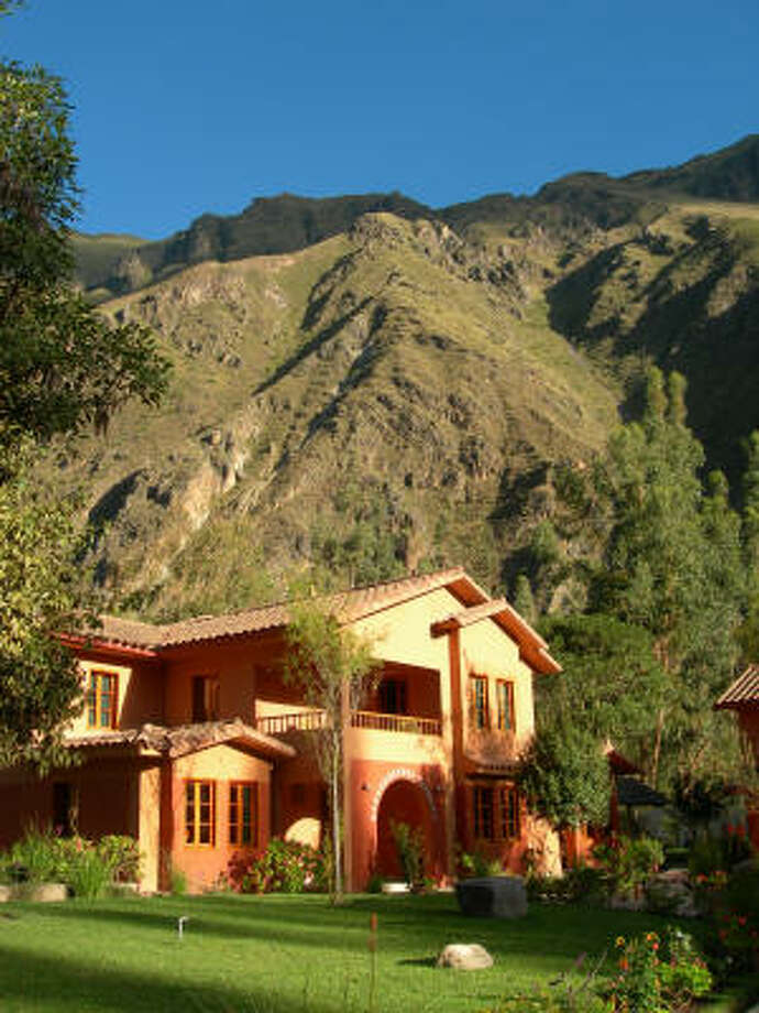 Pakaritampu is a new hotel in the town of Ollantaytambo in Peru's Sacred Valley of the Inca. Double rooms at the hotel start at $109 per night. Photo: Eileen McClelland, For The Chronicle