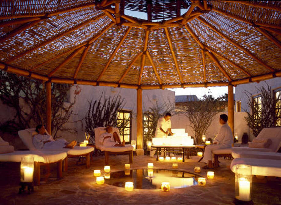 At the world-famous Las Ventanas al Paraíso, a resort and spa near Cabo San Lucas, dozens of exotic body treatments are served up in a tranquil paradise where pampering is a fine art. Photo: Spa At Las Ventanas