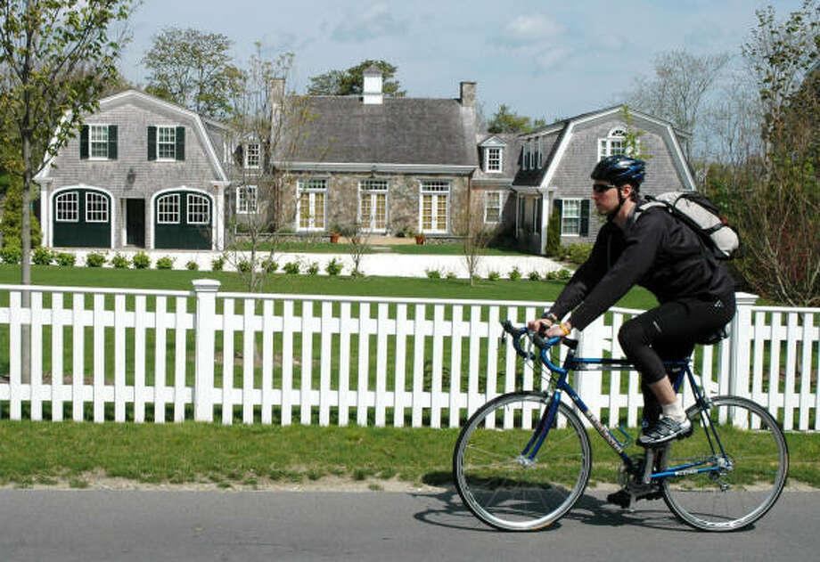 Martha's Vineyard has dedicated bike lanes and 35 miles of paved bike trails for cyclists. Photo: Kari J. Bodnarchuk