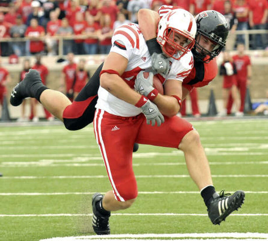 Nebraska and Mike McNeill nearly were able to knock Texas Tech out of the Top 10. Photo: Grant Waters, AP