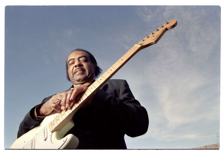 DISTINGUISHED CAREER: Pete Mayes played with Junior Parker, Bill Doggett and T Bone Walker. Photo: Smiley Pool, Chronicle