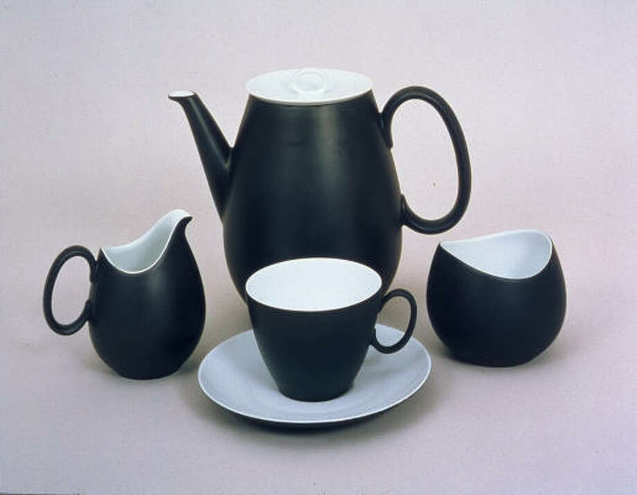 Raymond Loewry's Rosenthal china line. Photo: Hagley Museum And Library