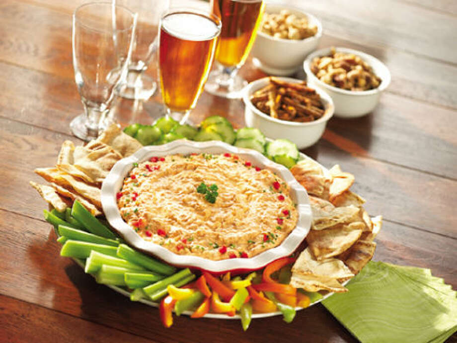 Cheesy Buffalo Chicken Dip Photo: FRANK'S REDHOT