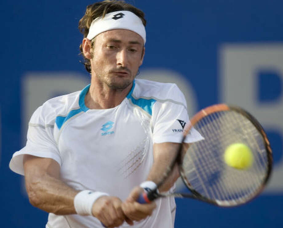 Juan Carlos Ferrero hadn't won on the ATP Tour since the Madrid Masters in October 2003. Photo: Andre Penner, AP