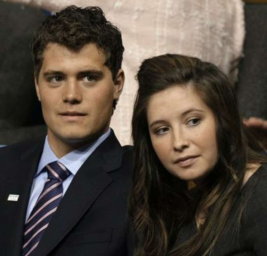 "Levi Johnston says he and Bristol Palin ""both want to marry each other."" Photo: Paul Sancya, AP FILE PHOTO"