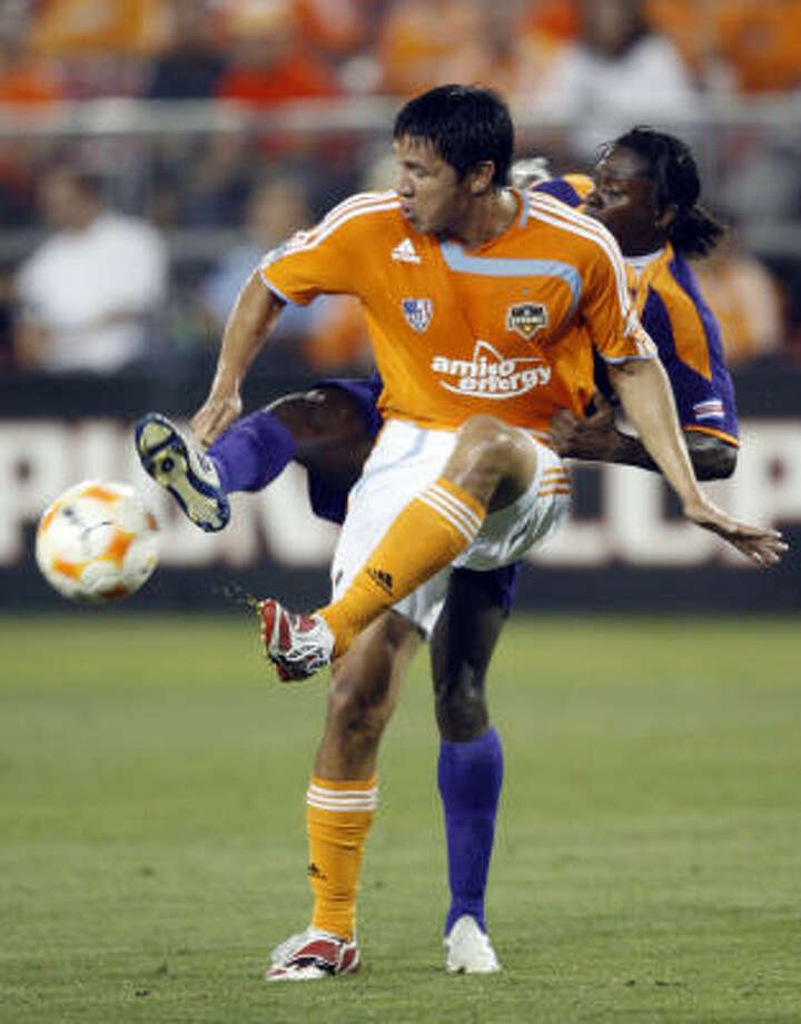 The Dynamo have secured the top seed and home-field advantage in the Western playoffs. Photo: Kevin Fujii, Houston Chronicle