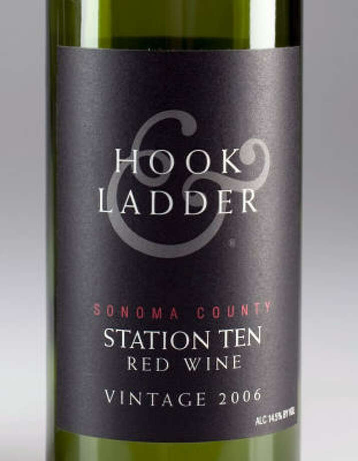 2006 Hook & Ladder Station Ten Red Wine Photo: JOHNNY HANSON PHOTOS, CHRONICLE