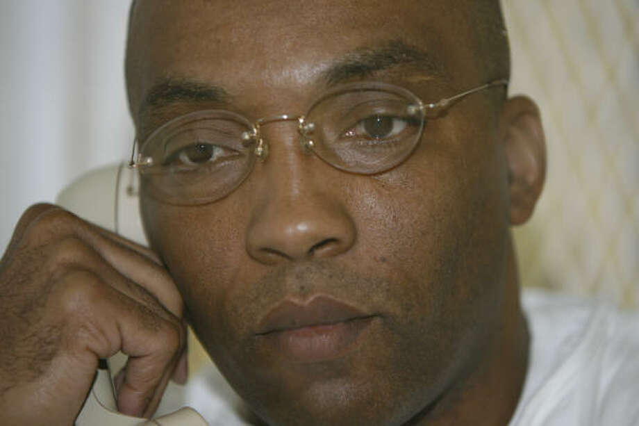 Farley Charles Matchett died by lethal injection on Tuesday for the 1991 fatal beating and stabbing of Houston paint contractor Uries Anderson. Photo: MELISSA PHILLIP, CHRONICLE