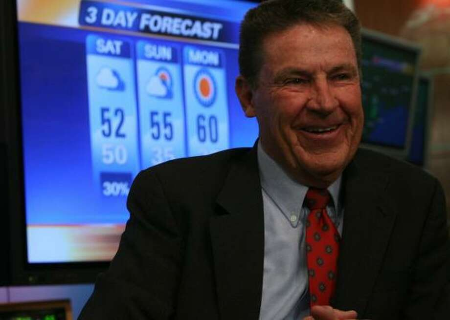 Neil FrankNeil Frank was director of the National Hurricane Center from 1974 through 1987, when he moved to Houston as chief meteorologist at Channel 11. He retired in 2008 but still contributes to the station during periods of severe weather. Photo: MAYRA BELTRÁN, CHRONICLE