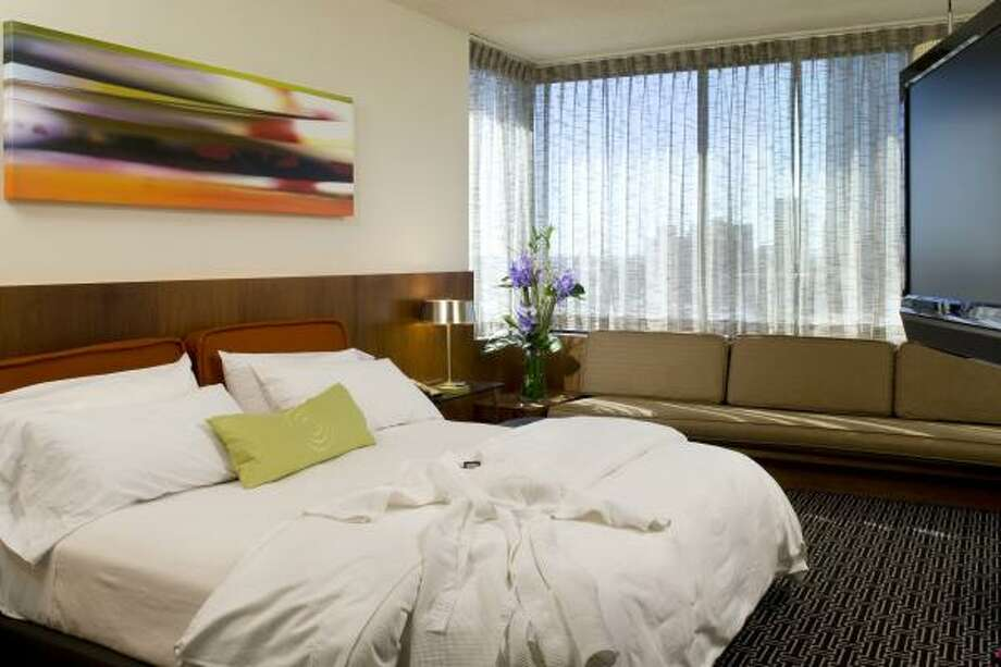 Officials for Hotel Derek, near the Galleria, say the hotel is seeking an emotional connection with its guests through a $2.5 million renovation. Photo: Hotel Derek