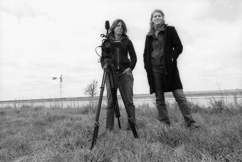 Cassandra Herrman, left, and Kelly Whalen are producers and directors of the documentary Tulia, Texas. Photo: Ryan Anson, ITVS