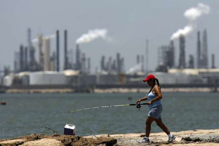Only surprise of galveston toxic fish alert why now for Fishing in houston
