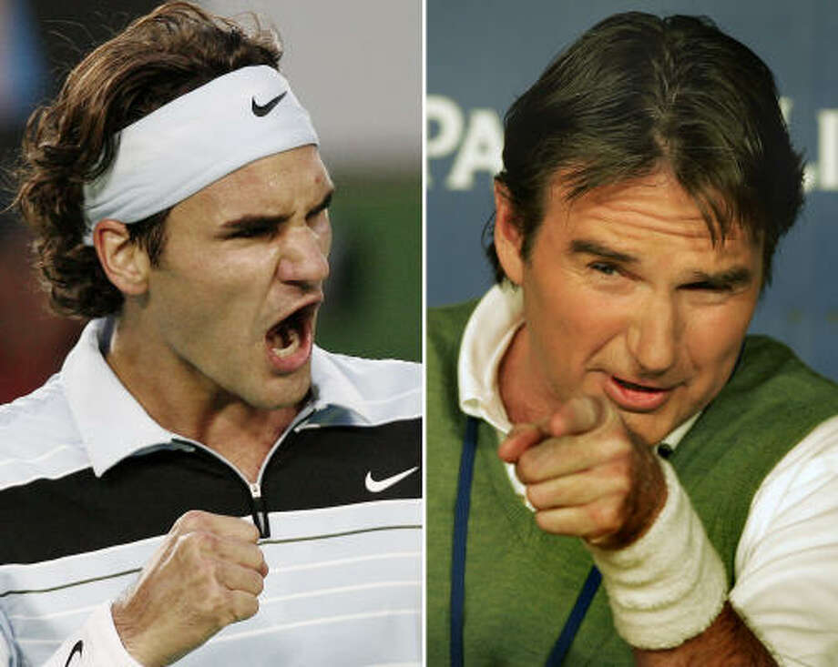 Federer ties Connors for consecutive weeks ranked No  1 - Houston