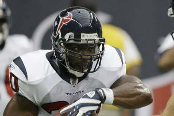 Texans running back Ahman Green, who was injured on the Texans' first play after catching a 5-yard pass, should miss the second preseason game at New Orleans and return for the trip to Dallas.