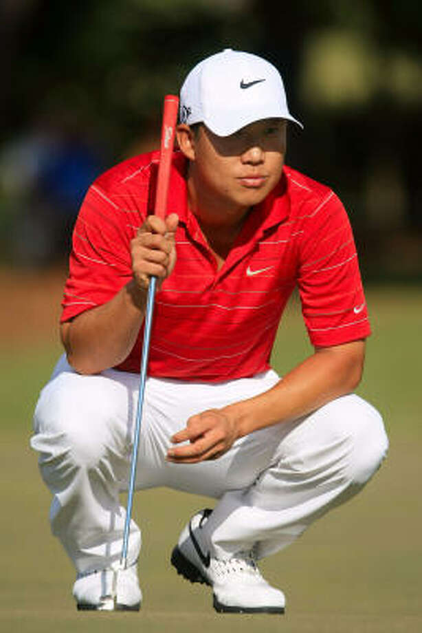 Anthony Kim leads the Tour Championship by four strokes and is 6-under par. Photo: Scott Halleran, Getty Images
