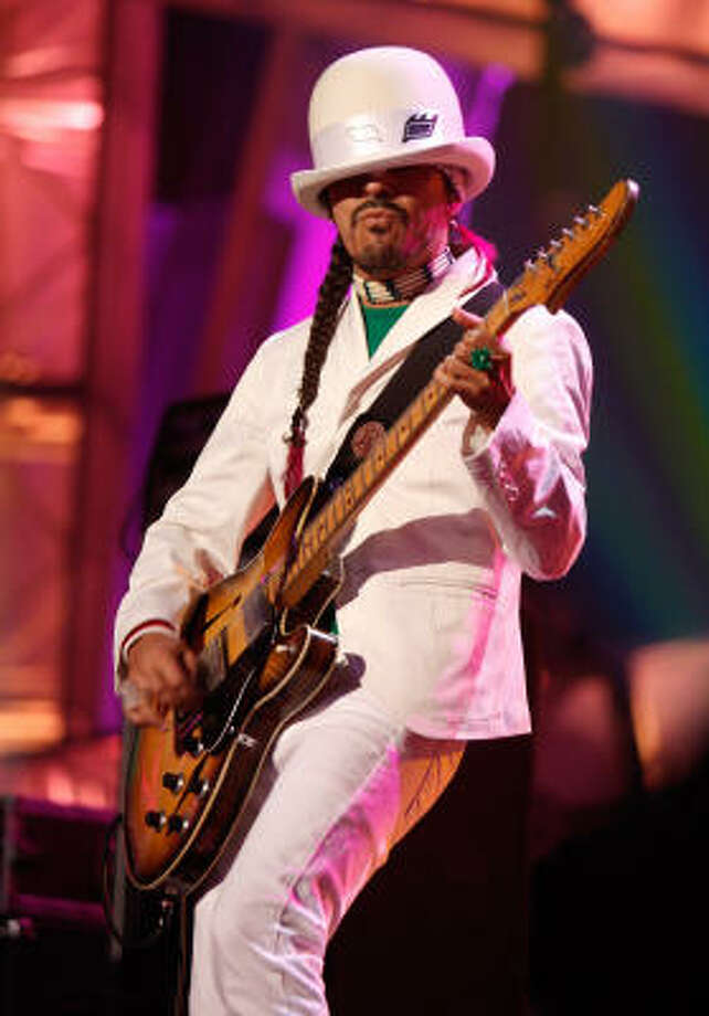 Ruben Ortega of Cafe Tacvba Photo: Kevin Winter, Getty Images