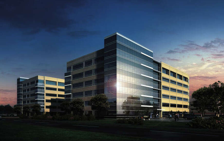 FIRST TENANT: Melton & Melton, a Houston accounting firm, has signed to lease 26,000 square feet in the One Oak Park building in Westchase, a Means Knaus Partners development. Photo: Gensler Architects