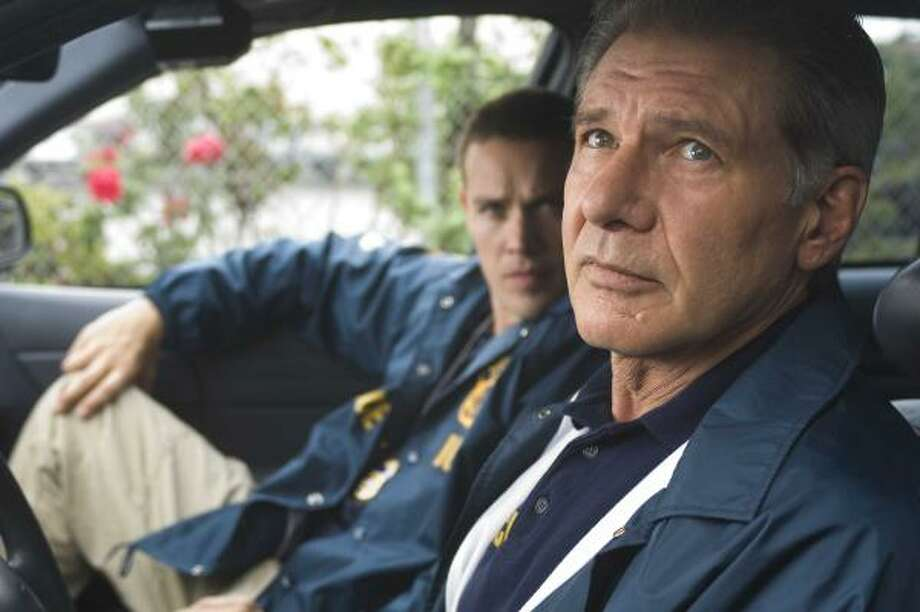 Crossing Over's ensemble cast includes Harrison Ford as a veteran Immigration and Customs Enforcement agent who gets personally involved in his cases. Photo: Dale Robinette, THE WEINSTEIN CO.