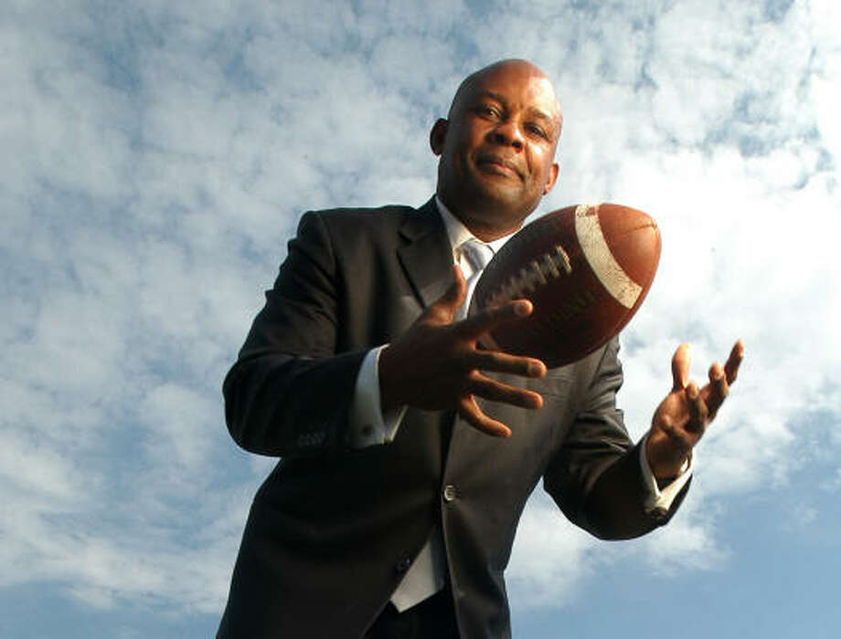 TSU athletic director Alois Blackwell was relieved of duty today. Photo: Carlos Javier Sanchez, For The Chronicle