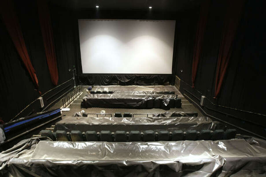 One of the 19 screening rooms is shown during a media preview tour of the new Silverado 19 IMAX Theatre on Friday, Feb. 1. Photo: Brett Coomer, Chronicle