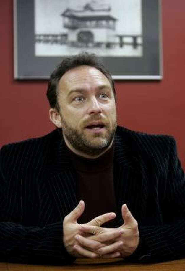 Jimmy Wales, founder of Wikipedia. Photo: Chris O'Meara, AP