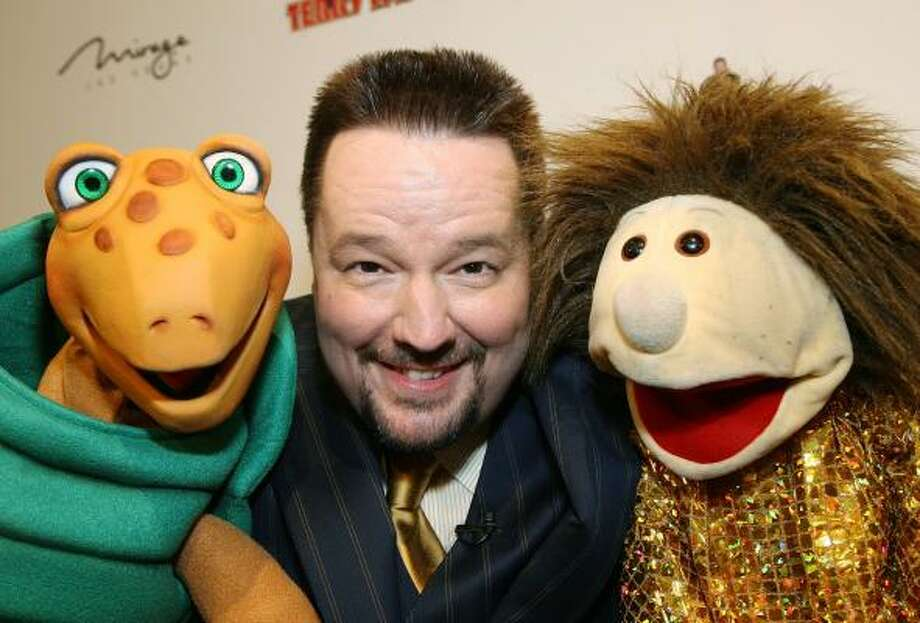 After being rejected in the past, Terry Fator signed a $100 million, five-year deal last month to headline at the Mirage Hotel & Casino in Las Vegas beginning Feb. 14. He also has a full-time manager, road manager, publicist and a team of writers. Photo: ETHAN MILLER, GETTY IMAGES FOR MGM MIRAGE