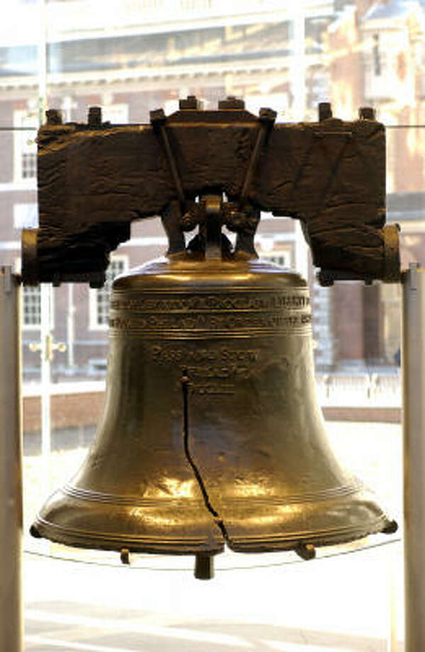 The Liberty Bell did not ring on July 4, 1776, as many believe. Photo: Anthony Sinagoga, Philadelphia Convention & Visitors Bureau