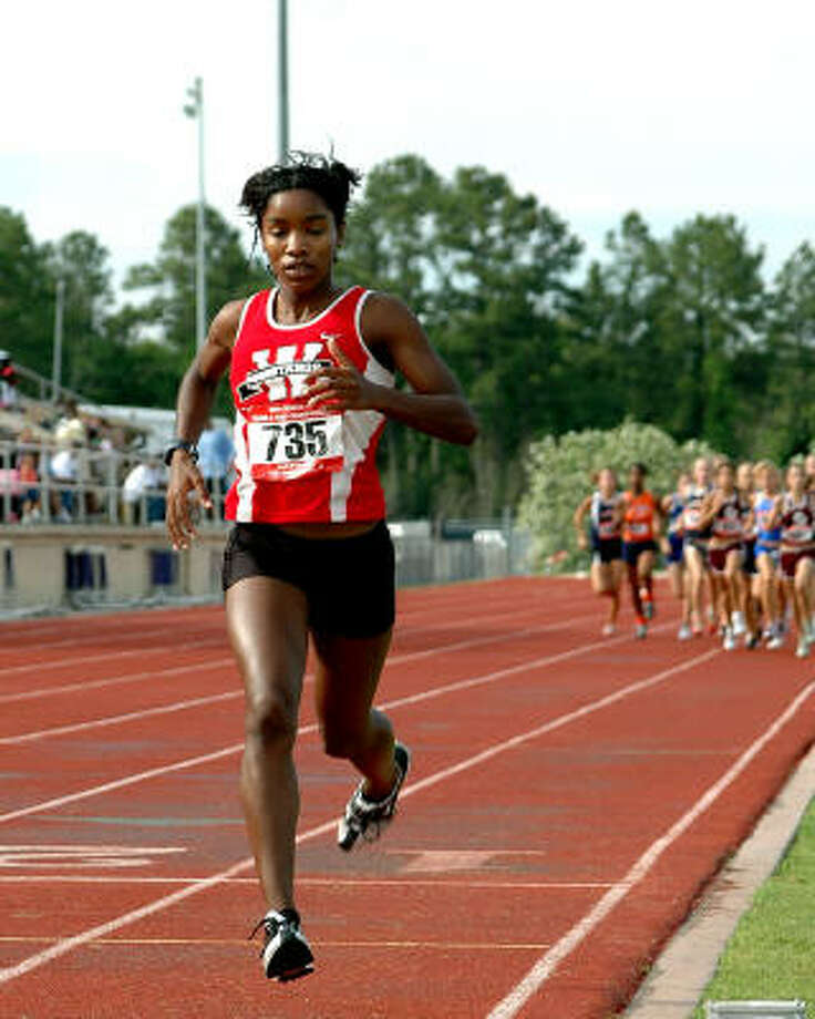 Nichole Jones of Westfield has taken her running skills to Baylor. Photo: Craig Prejean, For The Chronicle