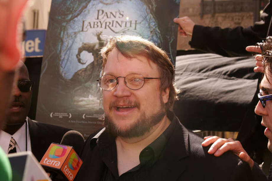 Pan's Labyrinthdirector Guillermo del Trro is a Hollywood favorite. Photo: ROBYN BECK, AFP/Getty Images