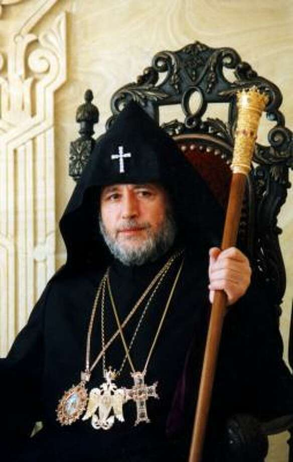 On his visit to Houston, His Holiness Karekin II will address a problem that vexes the Armenian Church — the struggle between religious orthodoxy and American culture. Photo: Courtesy Photo, DIOCESE OF THEARMENIAN CHURCH