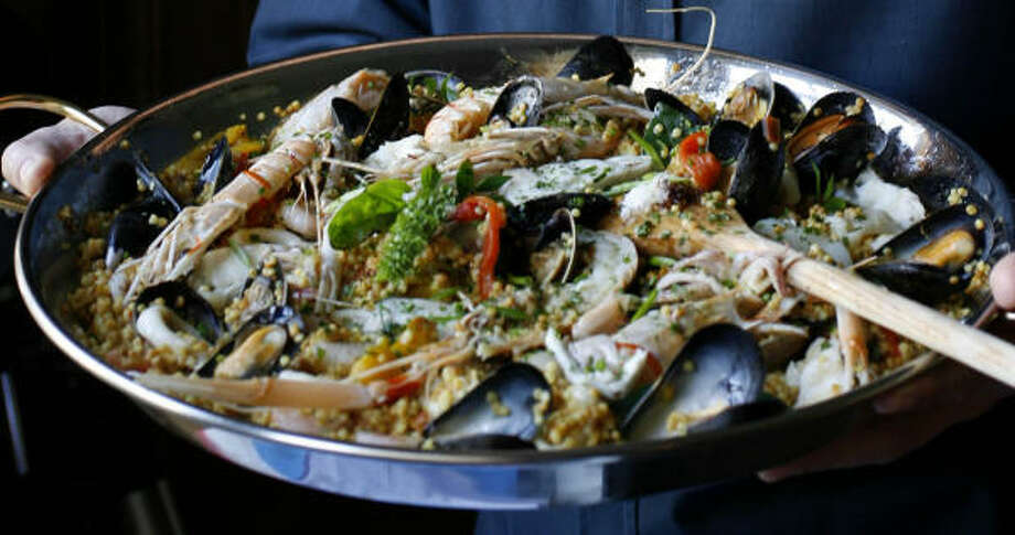 Sardinian Paella Photo: Karen Warren, Chronicle