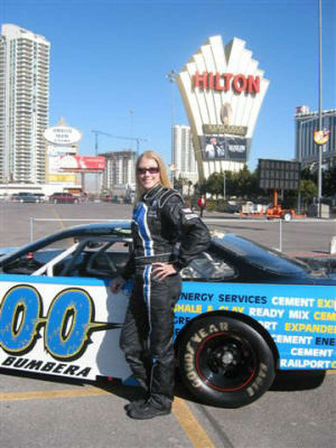 Kristin Bumbera is one of eight drivers selected by NASCAR for its 2008 Drive for Diversity Program. Photo: Kristin Bumbera