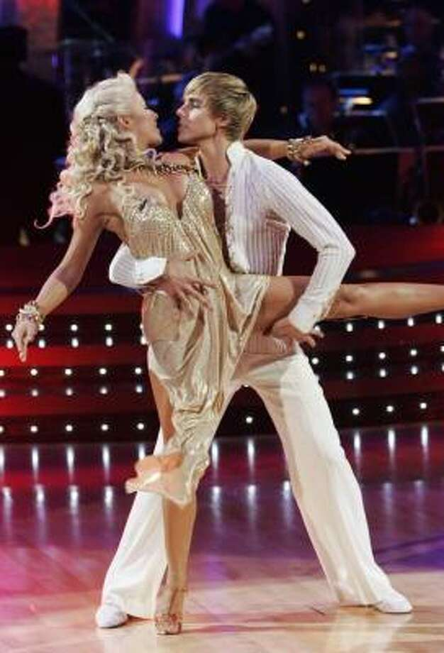 Julianne Hough's partner on Dancing With the Stars is Cody Linley. Photo: Kelsey McNeal, Associated Press