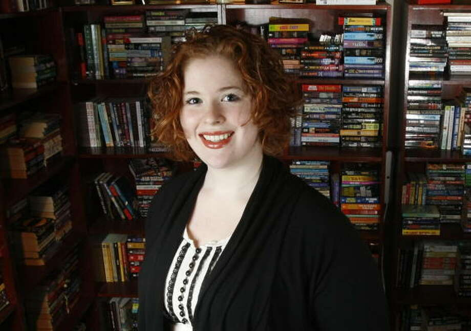 BOOKSTORE CELEBRITY: McKenna Jordan, the new owner of Murder By the Book, is mentioned in two of the Sookie books. Her name is used for a minor character, a clothing-store clerk. Photo: Julio Cortez, Chronicle