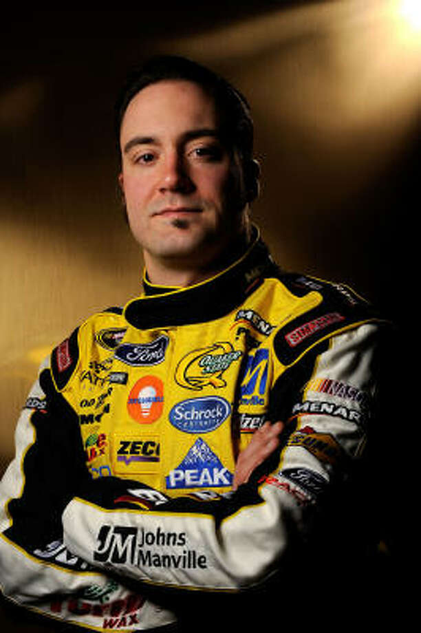 Paul Menard's crash in practice at Daytona International Speedway was the first of 2009. Photo: Rusty Jarrett, Getty Images For NASCAR