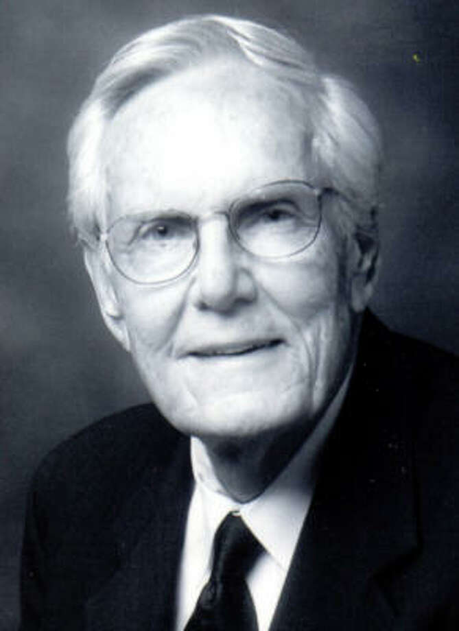 Harold Reeves, Baptist missionary and pastor in Houston churches. Photo: Family Photo