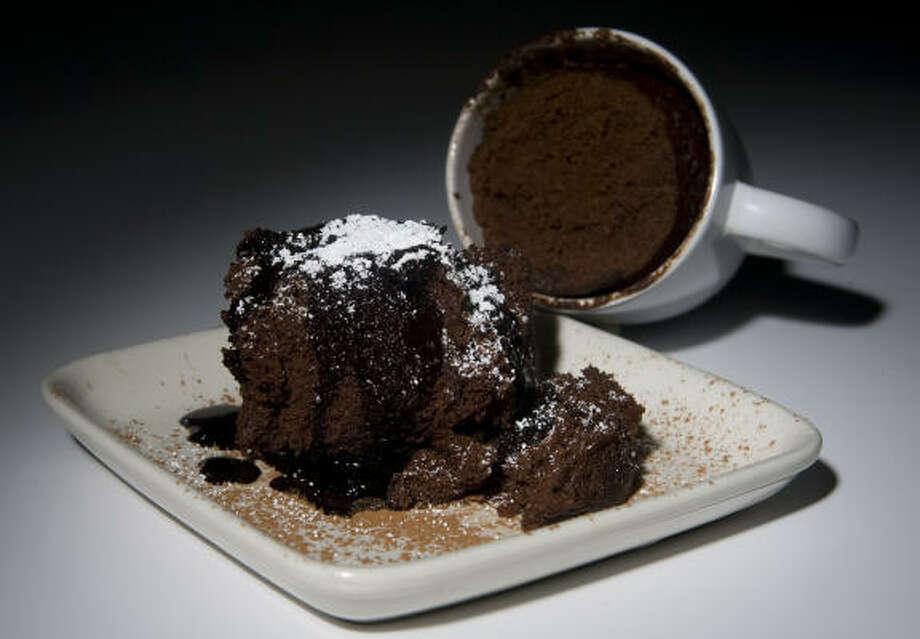 5-Minute Chocolate Cake Photo: JAMES NIELSEN, CHRONICLE